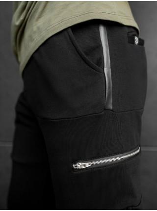 Спортивные штаны BEZET Zipper black
