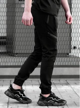 Джоггеры BEZET Techwear black