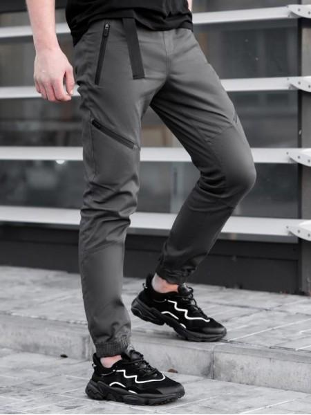Джоггеры BEZET Techwear grey