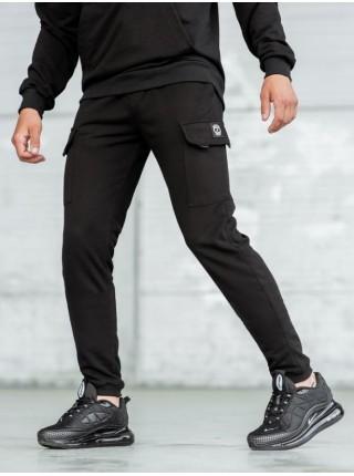 Спортивные Карго штаны BEZET black 2.0