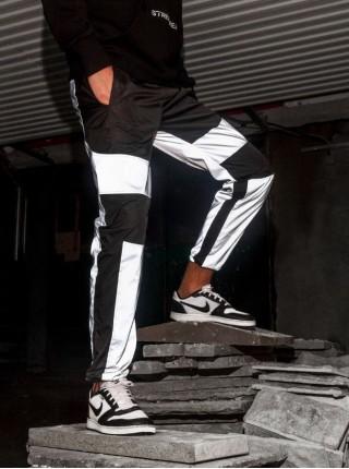 Джоггеры BEZET black\reflective